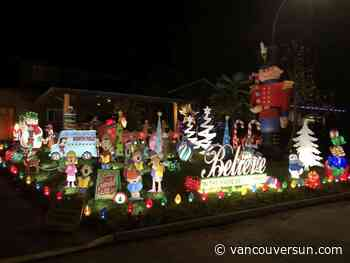 2020 Christmas lights map/list: Drive by these displays around Metro Vancouver - Vancouver Sun