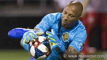 Columbus Crew SC starting goalkeeper Eloy Room questionable for Eastern Conference Final