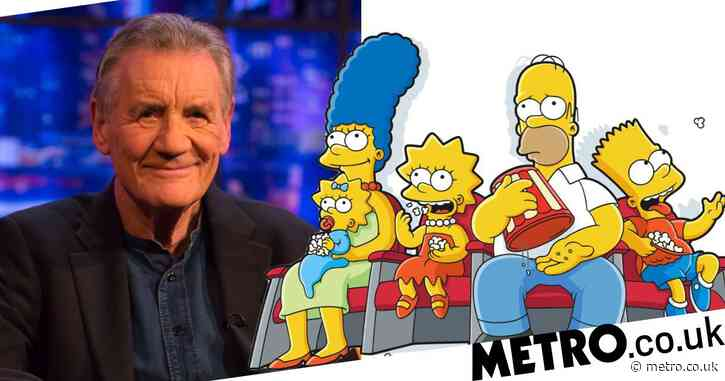 Sir Michael Palin reveals how he got a cameo role in The Simpsons