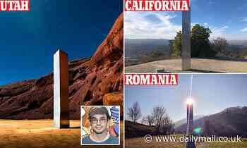 New Mexico artist collective claims they are behind the mysterious steel monoliths