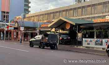 Darwin brawl escalates after car ploughs into group outside Six Tanks Brew Co
