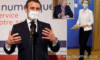 MoS COMMENT: Grandiose Macron and vaccine prove we're right to leave