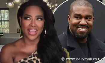 Real Housewife Kenya Moore describes 'disaster' date with Kanye West in new interview
