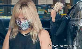 Malin Akerman makes a pit-stop from her road trip with sister Jennifer to Yucca Valley
