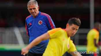 Kolumbien News: Trainer entlassen wegen Disput mit James Rodriguez - Sky Sport