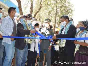 Arce inaugura San Antonio de Pucara, un colegio para 2.000 estudiantes - La Razón (Bolivia)