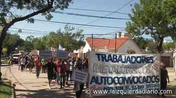 """Metalúrgicos autoconvocados de Galvez: """"No queremos ser pobres con trabajo"""" - La Izquierda Diario"""