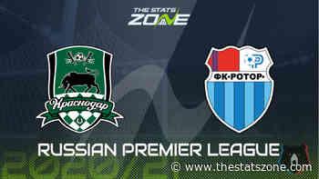 Russian Premier League 2020-21 - Krasnodar vs Rotor Volgograd Preview and Prediction - The Stats Zone