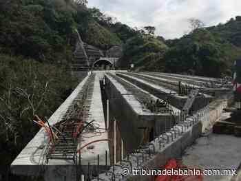 Colocan las primeras 6 trabes en puente de Guamuchil - Noticias en Puerto Vallarta - Tribuna de la Bahía