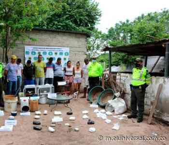 Desmantelan laboratorio productor de cocaína en Polonuevo, Atlántico - El Universal - Colombia