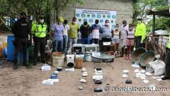 Desmantelan laboratorio para el procesamiento de cocaína en Polonuevo, Atlántico - Diario La Libertad