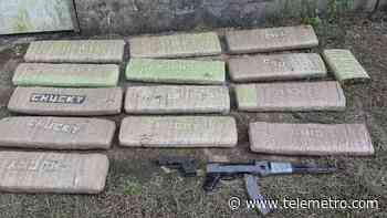 Incautan fusil, municiones y presunta droga durante operativo en Puerto Pilón - Telemetro