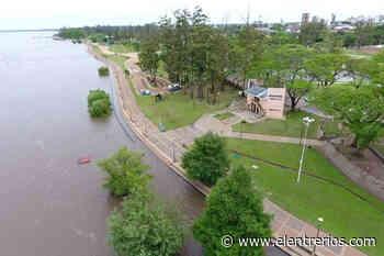 El río Uruguay creció frente al puerto de Concordia e informaron a qué altura podría llegar - Noticias - Elentrerios.com
