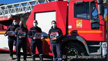 Les pompiers débutent la distribution des calendriers à Font-Romeu-Odeillo-Via, Pyrénées 2000 et Egat - L'Indépendant