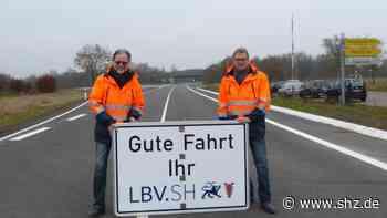 Von Neumünster nach Wahlstedt: Auf der B 205 fahren wieder die Fahrzeuge | shz.de - shz.de
