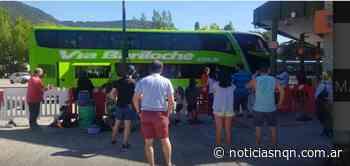 San Martin de los Andes: Se restableció el transporte de corta, media y larga distancia - Noticias NQN