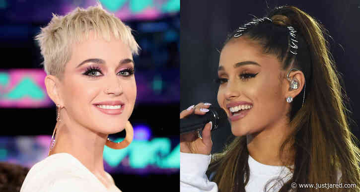 Katy Perry Shares Sweet Baby Gift From Ariana Grande!