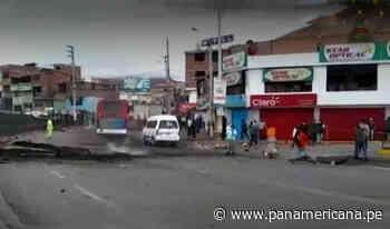 La Oroya: en amplio operativo la Policía Nacional desbloqueó la Carretera Central | Panamericana TV - Panamericana Televisión