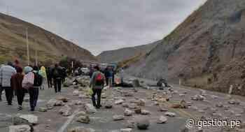 Se inicia paro en La Oroya, con bloqueo de carretera exigen adjudicación de Doe Run a trabajadores - Diario Gestión