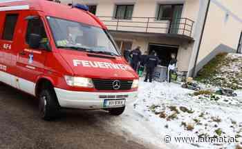 Vier Feuerwehren bei Kleinbrand in Garagenwerkstätte eines Hauses in Molln im Einsatz   laumat at - laumat at