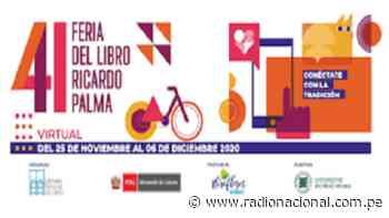 Hasta el 6 de diciembre visita la Feria del Libro Ricardo Palma 2020 - Radio Nacional del Perú