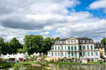 120 Aussteller präsentieren am Schloss Wilhelmsthal ihre Schätze: Gartenfest lockt nach Calden - Westfalen-Blatt