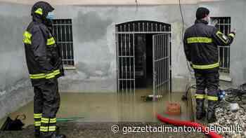 Allagamenti a Castellucchio: acqua in garage e scantinati - La Gazzetta di Mantova