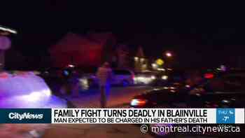 Son charged with father's death in Blainville - Video - CityNews Montreal
