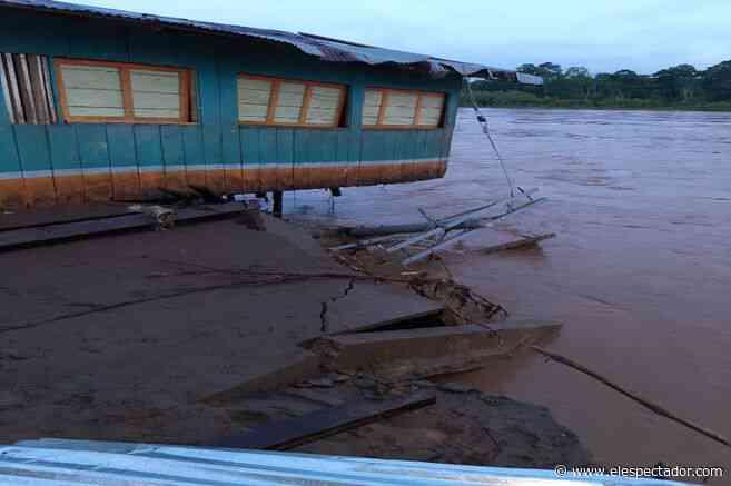 Unas 800 familias fueron afectadas por las lluvias en Vigía del Fuerte, Antioquia - El Espectador