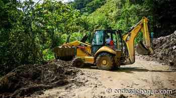 Cortolima y Gobernación del Tolima recuperaron la vía Rioblanco - Puerto Saldaña y Rioblanco - Herrera, afectadas por las fuertes lluvias - Emisora Ondas de Ibagué, 1470 AM