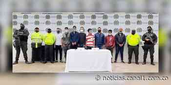 Caen 'Los Tribilines', traficantes de droga en Fómeque, Cundinamarca - Canal 1