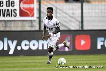 Emmanuel Ntim star for Valenciennes in 2-1 win against FC Chambly - Modern Ghana