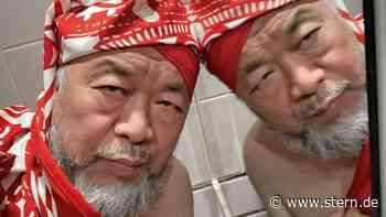 Ai Weiwei bringt Politik an die Wand, in die Hand und auf den Kopf - STERN.de