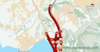 A7 - Accident à Rognac : trafic saturé en direction de Marseille - La Provence