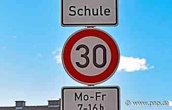 Tempo 30 auf der Bundesstraße: Ab jetzt gilt's - Garching an der Alz - Passauer Neue Presse