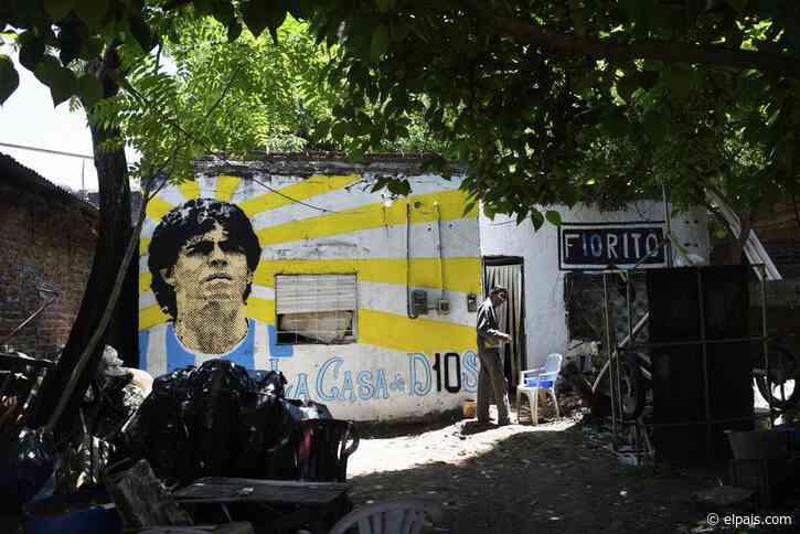 Villa Fiorito, la cuna de tierra de Maradona - EL PAÍS
