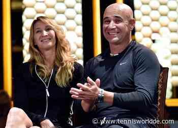 """Andre Agassi und Steffi Graf: """"Die Leute sehen nur Titel und nicht unser Leiden"""" - Tennis World DE"""