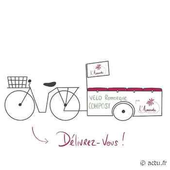 Yvelines. Maisons-Laffitte : l'association l'Amarante va livrer à vélo remorque - actu.fr