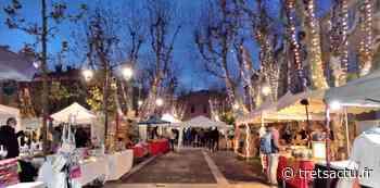 Le marché de NOËL de Fuveau ouvre la saison dans une forme revisitée et plus sympathique mais sans animations - Trets au coeur de la Provence