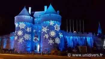 Guérande by Light: plan lumière spécial Noël Intramuros 44350 Guerande samedi 5 décembre 2020 - Unidivers