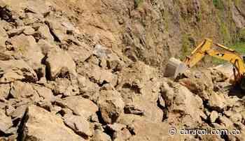 Por deslizamiento, cerrada vía entre Coscuez y San Pablo de Borbur - Caracol Radio