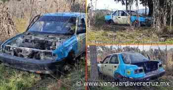 Abandonan taxi desvalijado en Altotonga - Vanguardia de Veracruz