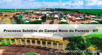 Processo Seletivo de Campo Novo do Parecis – MT: Inscrições abertas - DIARIO OFICIAL DF - DODF CONCURSOS