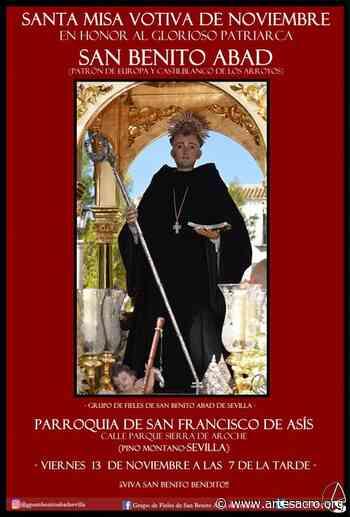 Hoy, santa Misa Votiva de Noviembre en honor a San Benito Abad - Arte Sacro