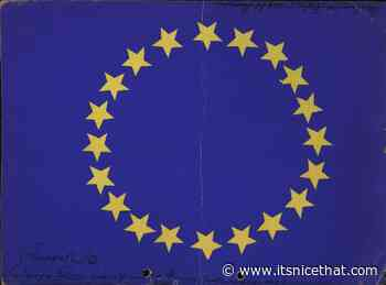"""""""A project of continental peace"""": over 150 rejected flags for Europe published 65 years after creation"""