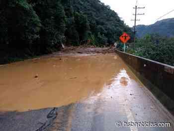¡Atención! Cierre total en la vía Villavicencio - Guayabetal por deslizamiento de tierra   HSB No - HSB Noticias