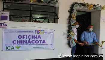 Inauguran oficina del ICA en Chinácota - La Opinión Cúcuta