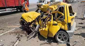 Tráileres bolivianos protagonizan accidentes en Palpa y Nasca - Diario Correo