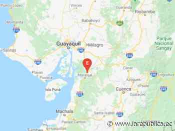 Sismo 4.46 con epicentro en Naranjal - La República Ecuador