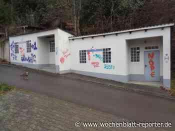 Neue Farbschmierereien In der Heimbach: Wessen Synonyme könnten das sein? - Wochenblatt-Reporter